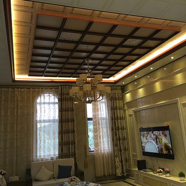 客厅实景案例设计案例、装修效果图