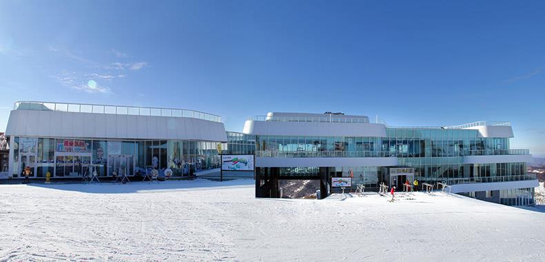 张家口冬奥项目万龙滑雪场卧龙酒店设计案例、装修效果图