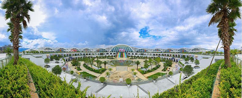 云南省滇池国际会展中心设计案例、装修效果图