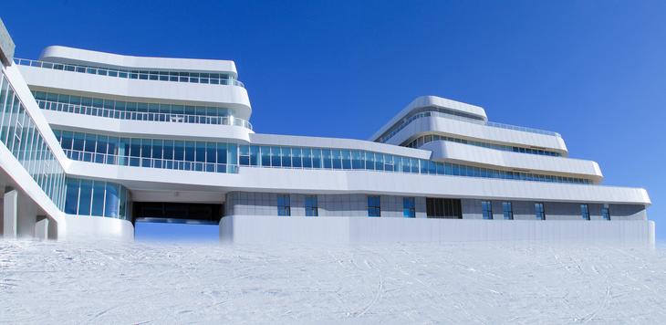 张家口-冬奥项目万龙滑雪场卧龙酒店