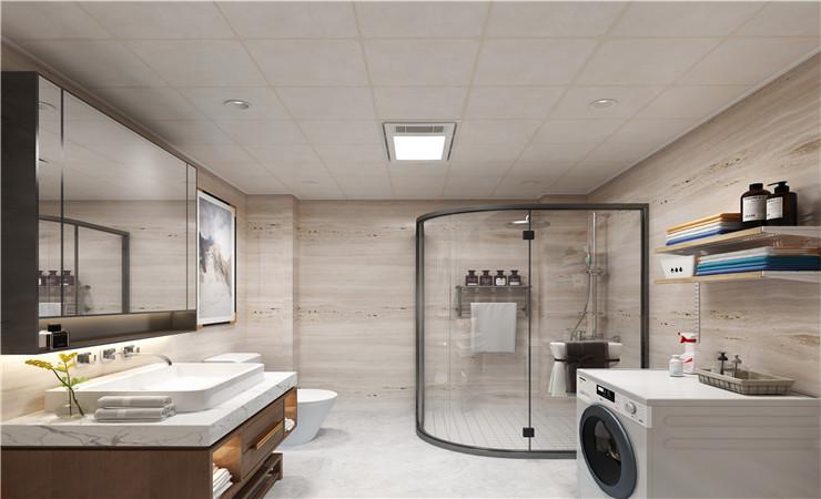 今年流行的【温馨家居】卫生间装修风格设计方案效果图欣赏