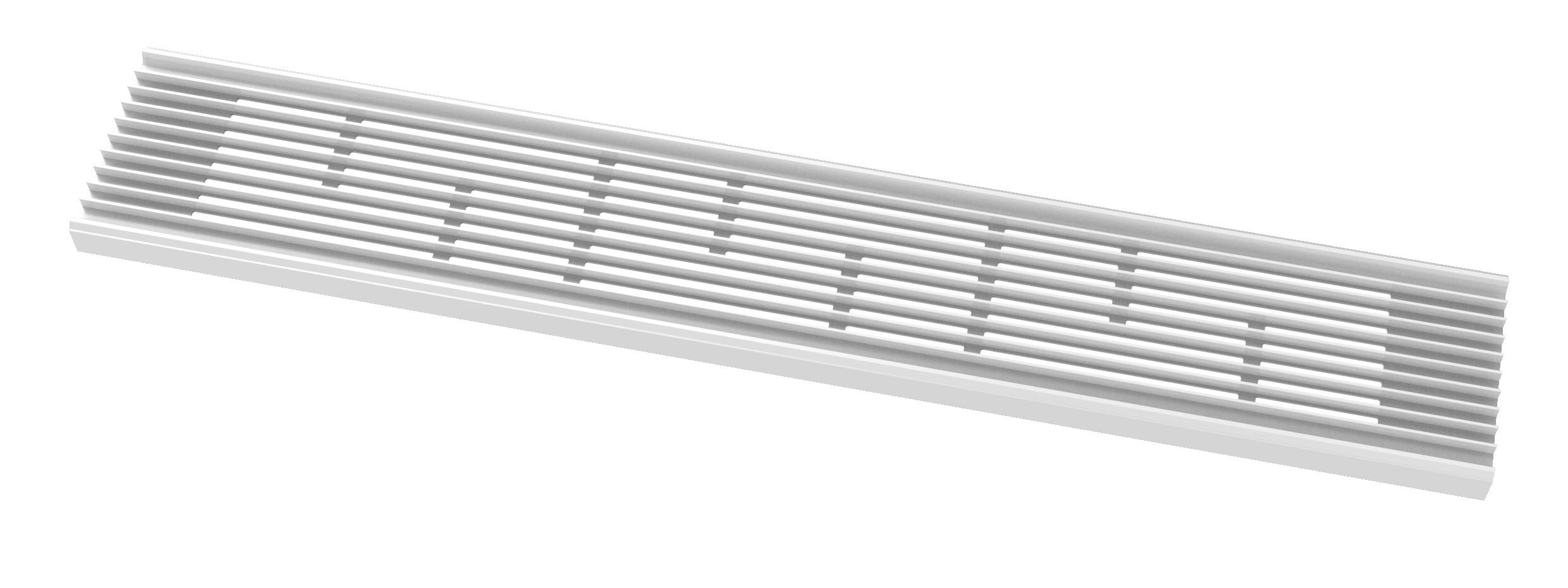 集成吊顶单照明1060格栅灯(时尚白/哑光黑/星空灰)效果图