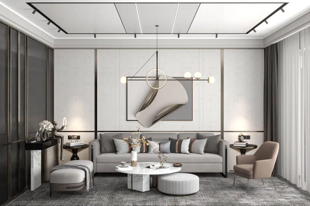 【TV.P】这样设计的客厅,艺术气质MAX