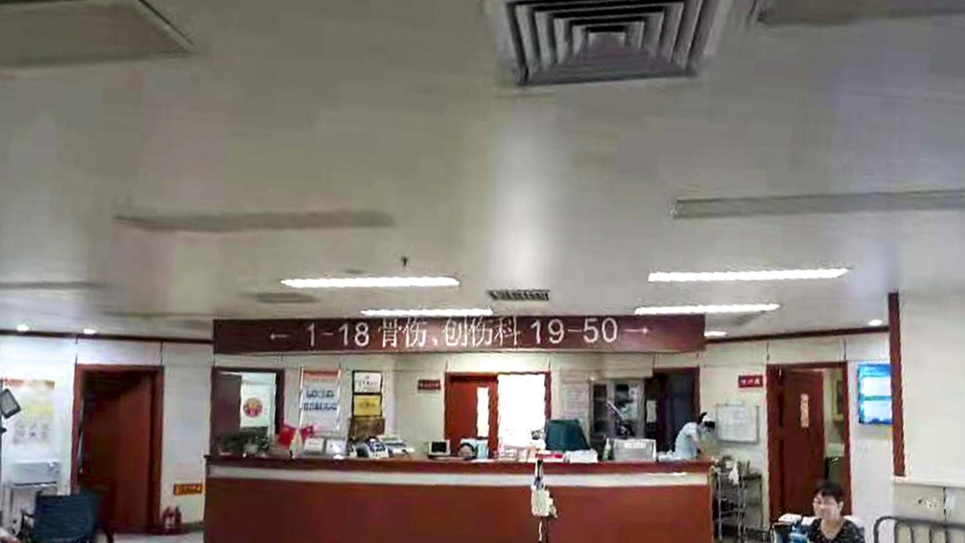 郑州市中医院设计案例、装修效果图