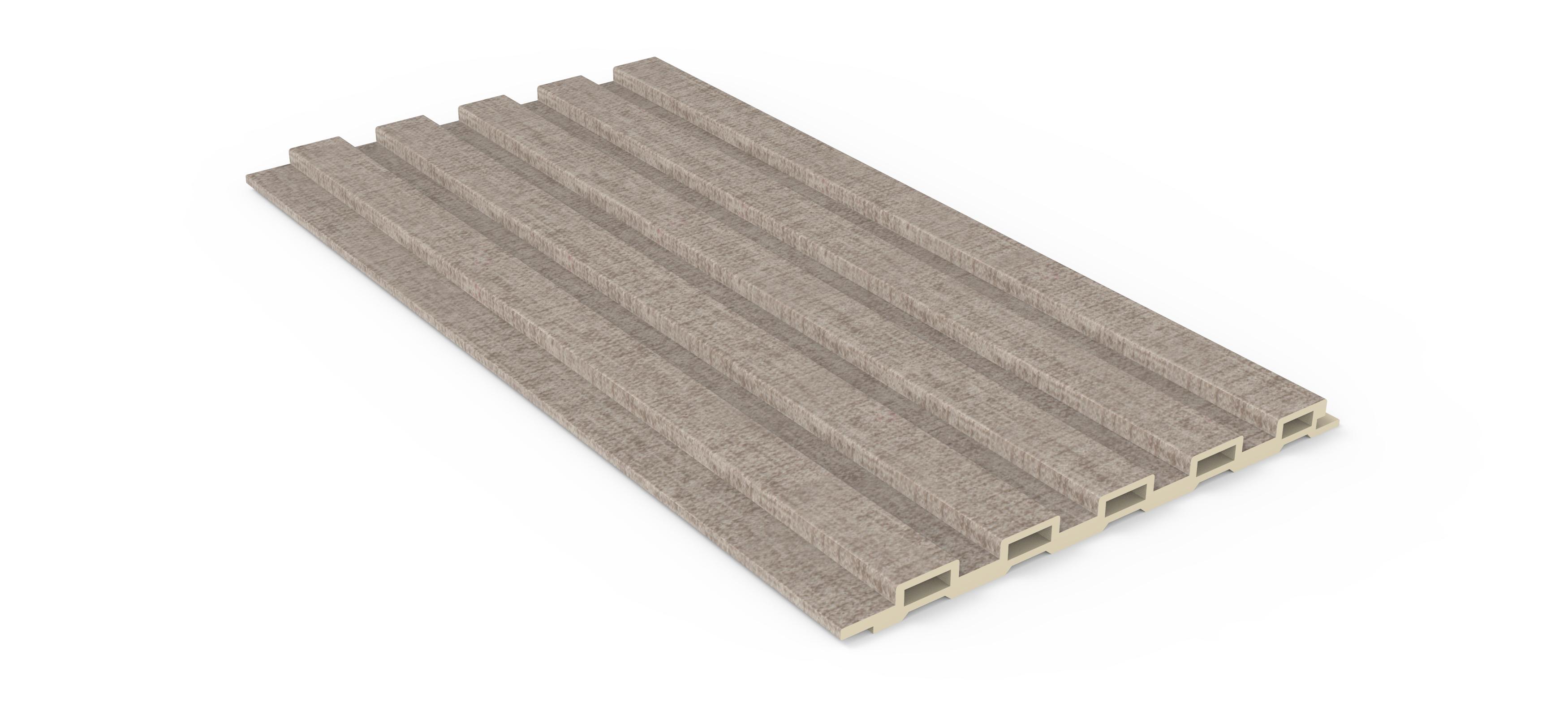 160小长城板-亚麻布纹(PVC膜)