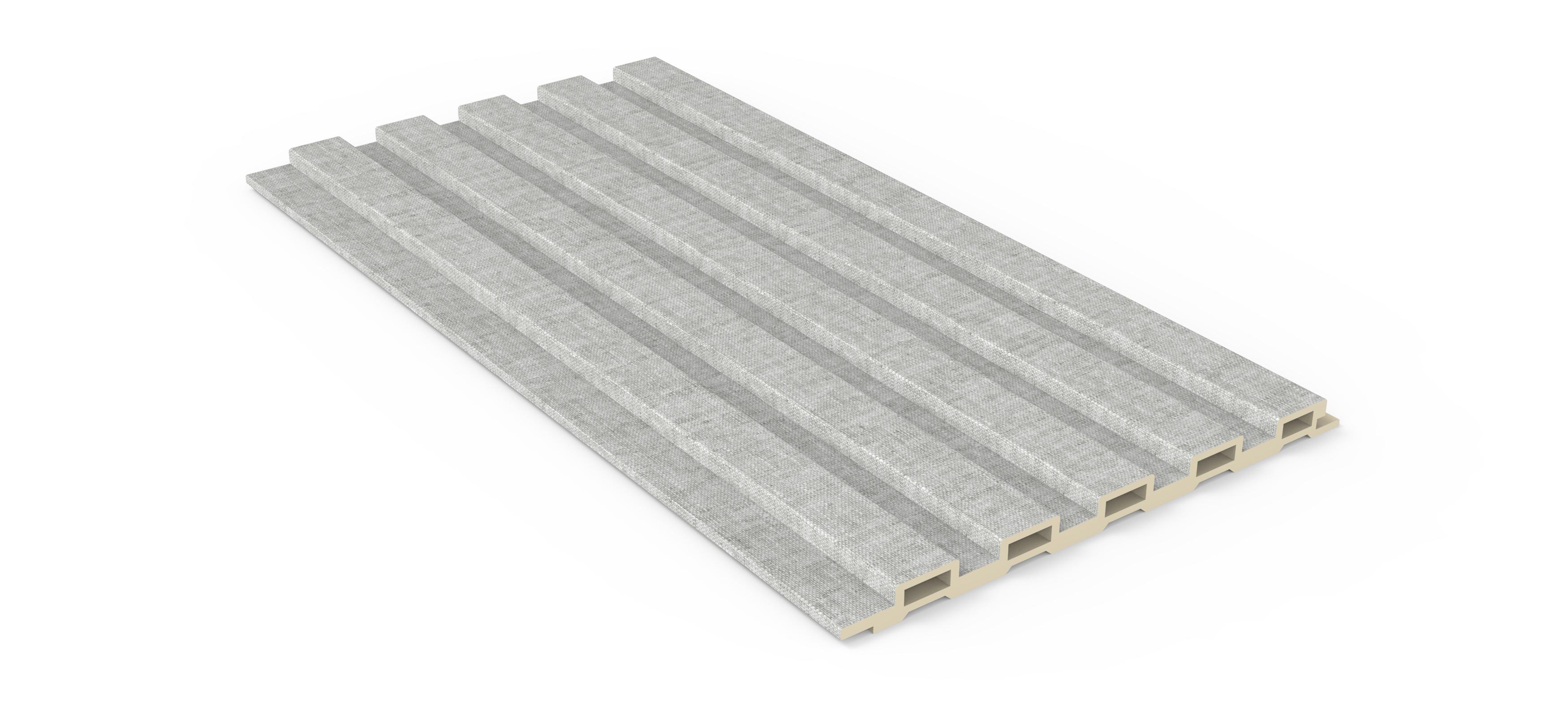 160小长城板-灰布纹(PVC膜)