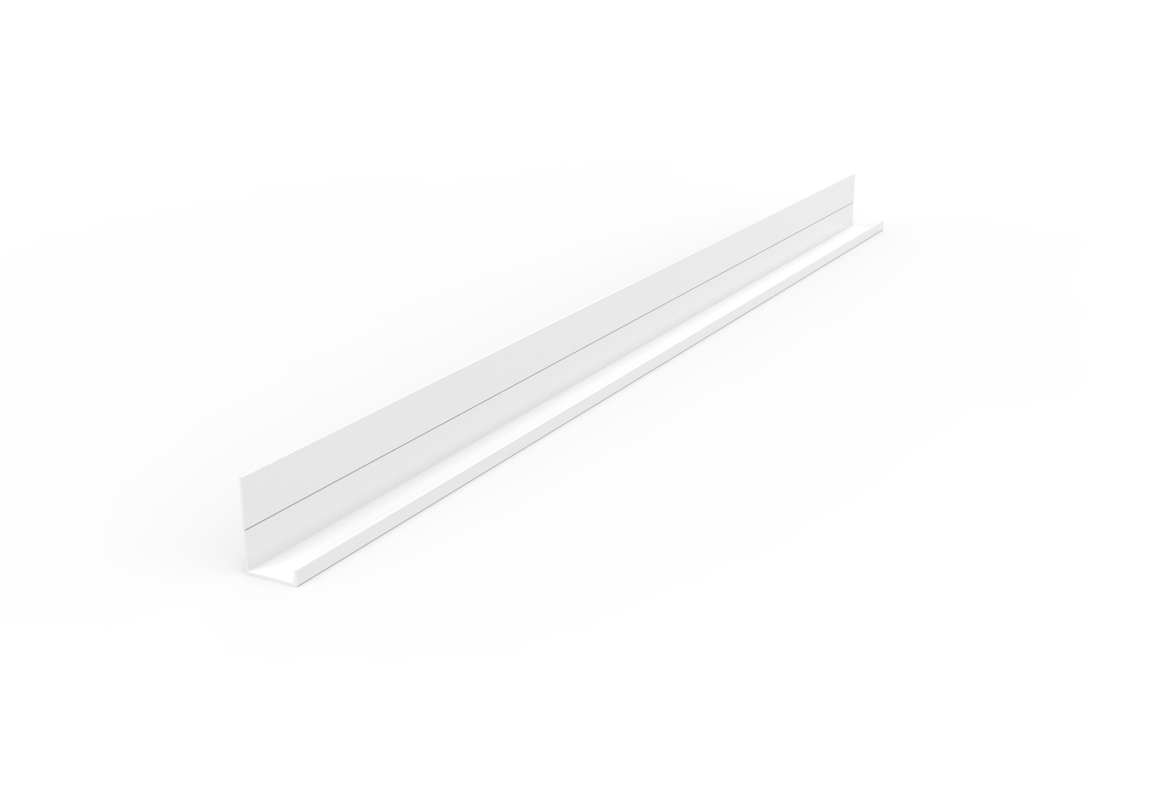 集成吊顶边角线WBK-18×29无边框边角-纤柔米白效果图