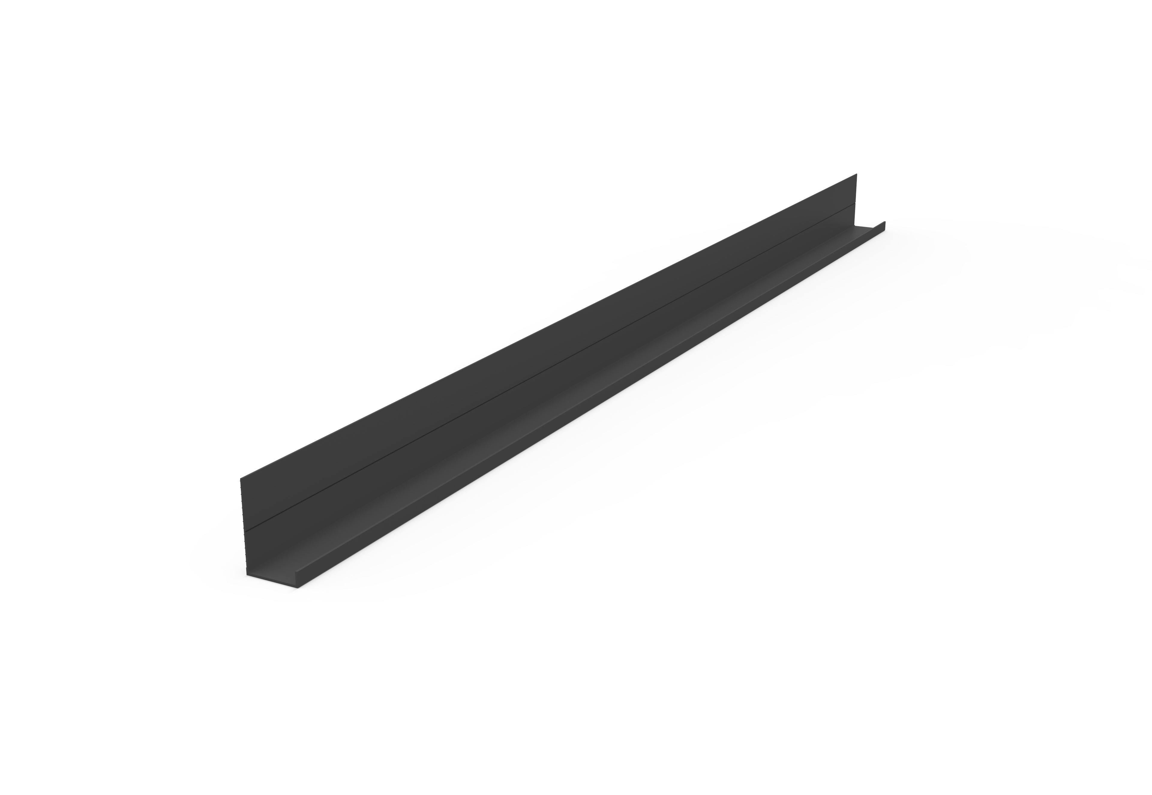 集成吊顶其他配件WBK-18×29无边框边角-氧化哑光黑效果图