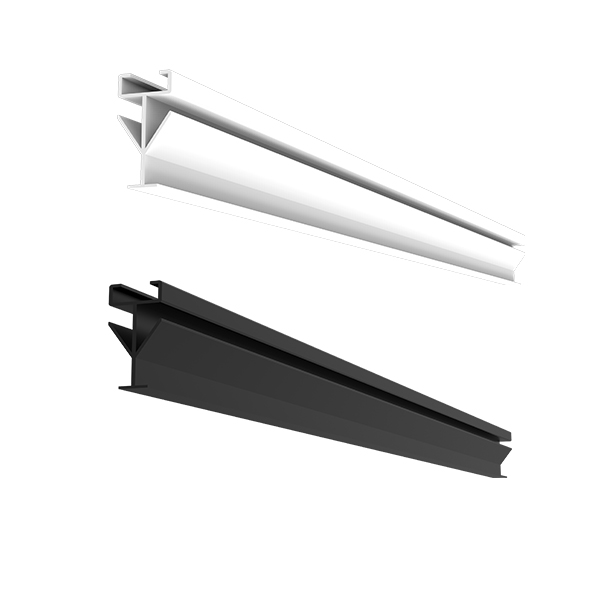 JK-GD-ZG-9 勾搭式主骨-纤柔米白/氧化哑光黑