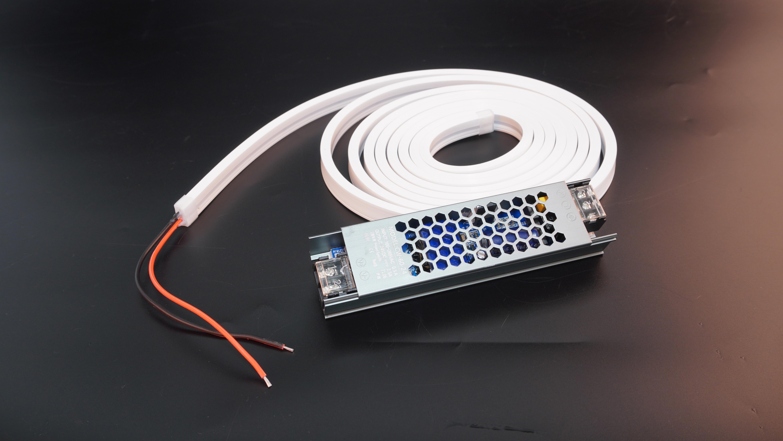 集成吊顶其他配件24V60W 平头内嵌灯带+驱动效果图