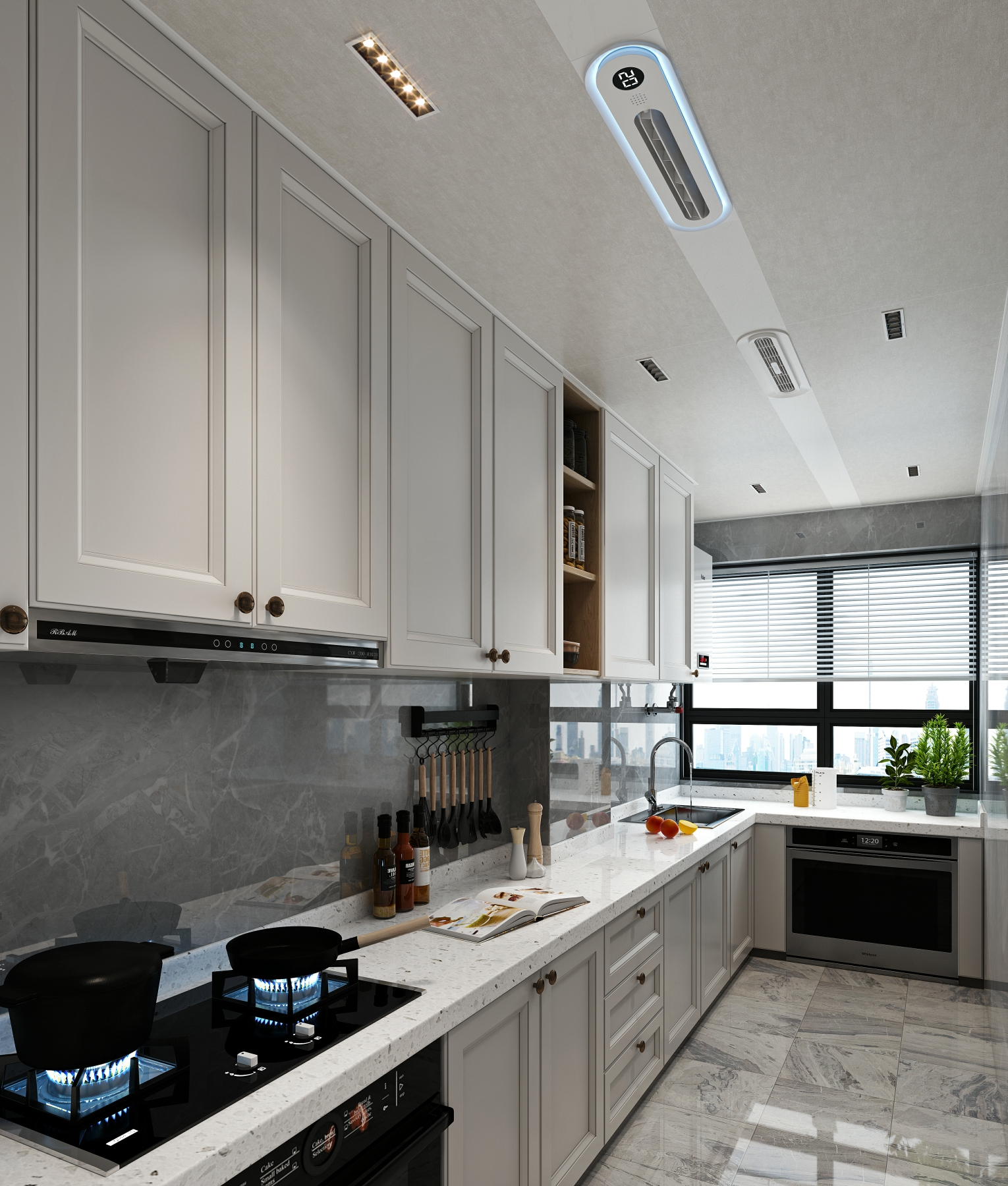 为什么越来越多的厨房都选择集成吊顶!